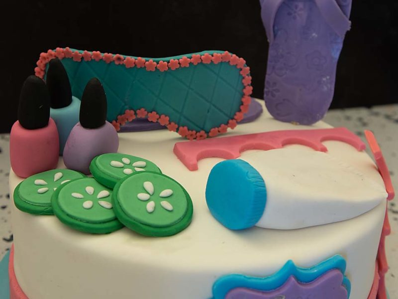 Spa Day Cake